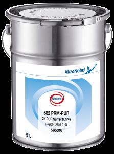 Salcomix 682 PRM-PUR 2K PUR Surfacer Grey RAL7038 5L