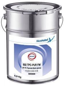 Salcomix 650 TPC-PUR FW 2K PU Topcoat-Semi-glossy 4,9kg