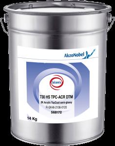 Salcomix 730 HS TPC-ACR DTM 2K Acrylic TopCoat semi-glossy 14kg