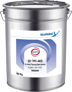 Salcomix 321 TPC-AKD 1K Alkyd Topcoat-Semi-glossy 16kg