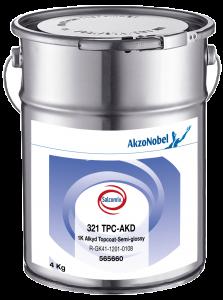 Salcomix 321 TPC-AKD 1K Alkyd Topcoat-Semi-glossy 4kg