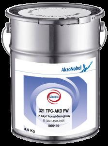 Salcomix 321 TPC-AKD FW 1K Alkyd Topcoat-Semi-glossy 4,9kg