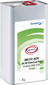 Salcomix 868 CC-ACR 2K HS Clearcoat Plus 5L